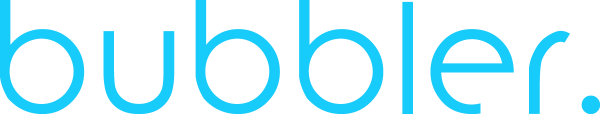 bubbler. Logo